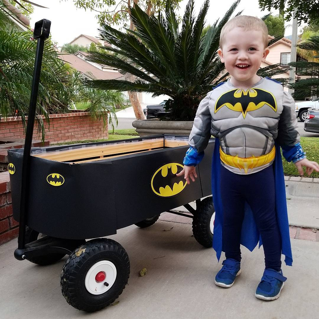 Kids Batman Costume DIY