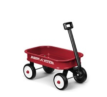 Little Red Toy Wagon