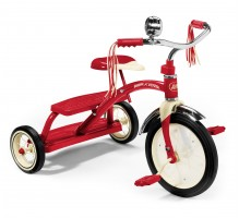 Classic Red Dual Deck Tricycle™